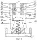 Штамп с горизонтальным разъемом матриц для штамповки поковок типа крестовин