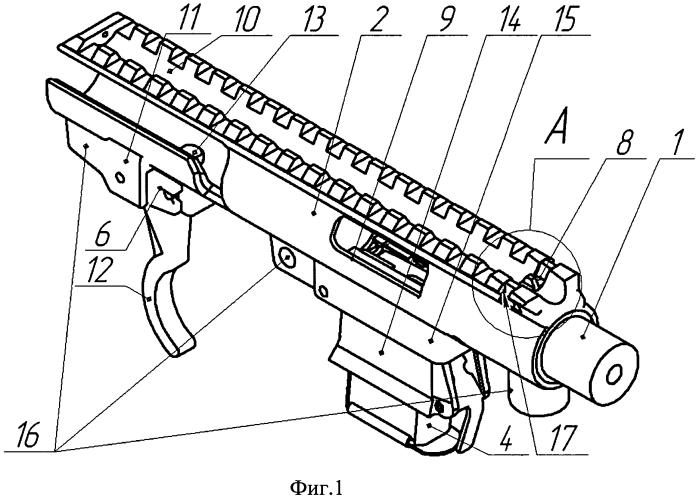 Стрелковое оружие и прицельное приспособление (варианты)
