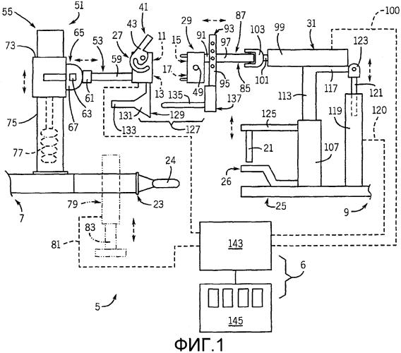 Автоматическая сцепная система трактора для буксируемых инструментов