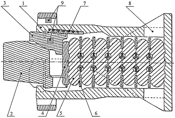 Фрикционно-полимерный амортизатор удара