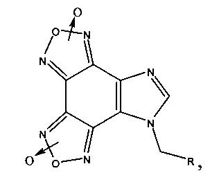 Гетеромерные пептиды на основе имидазо[4,5-е]бензо[1,2-с;3,4-с]дифуроксана, ингибирующие агрегацию тромбоцитов