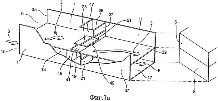 Вентиляционное устройство с переменным пропусканием воздушных потоков