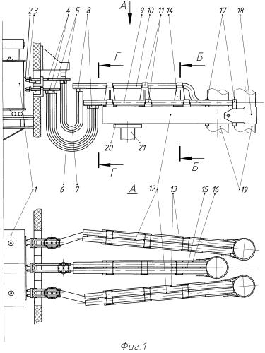 Триангулированный сильноточный токоподвод