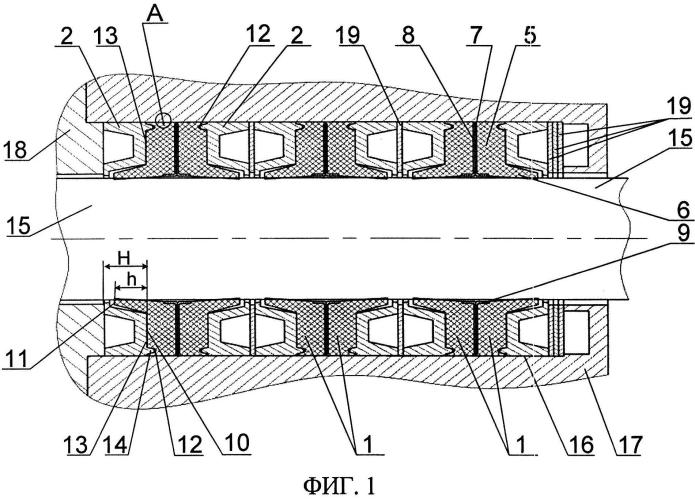 Уплотнительный узел подвижного соединения