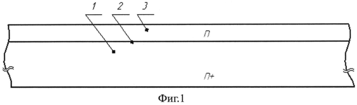 Кремниевый диод с барьером шоттки и способ его изготовления