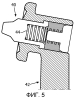 Направляющий узел наконечника для прибора для чистки зубов с помощью жидкокапельного аэрозоля