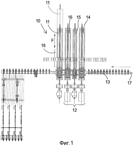 Компактная реверсивная универсальная установка для производства профилей среднего-крупного размера