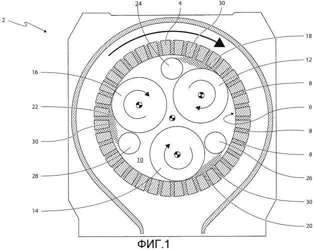 Гранулятор с улучшенной системой подачи и способ образования гранулированного материала