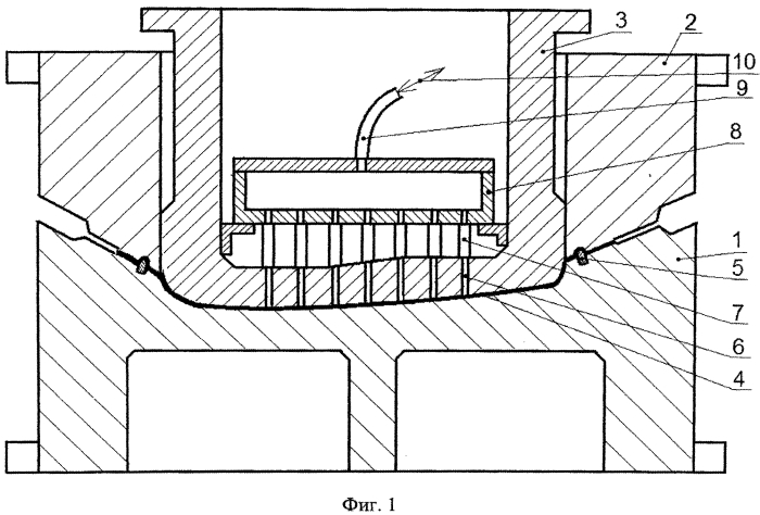 Способ вытяжки крупногабаритной детали сложной формы (варианты)