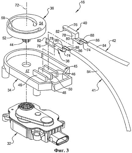 Приводная система для нескольких подвижных систем