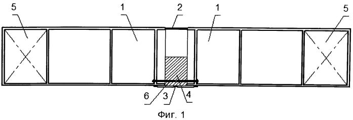 Способ создания предварительного напряжения в районе соединения стыкуемых элементов предварительно напряженного железобетонного понтона