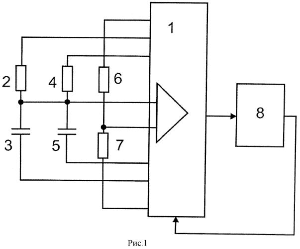 Микроконтроллерное устройство для измерения емкости и сопротивления и передачи результата измерения по радиоканалу