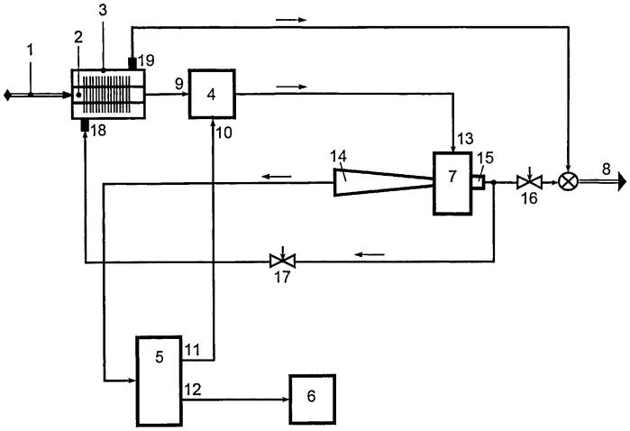 Установка подготовки топливного газа для применения в когенерирующих установках