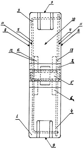 Тормозная колодка железнодорожного транспортного средства