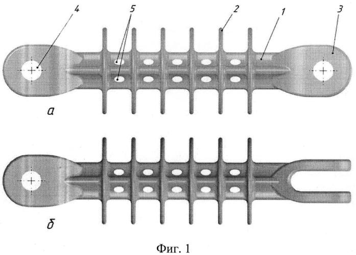 Подвесной полимерный изолятор
