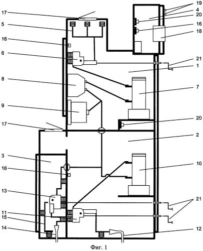 Высоковольтное комплектное распределительное устройство