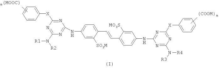 Применение дисульфоновых флуоресцентных отбеливающих агентов в покрытиях