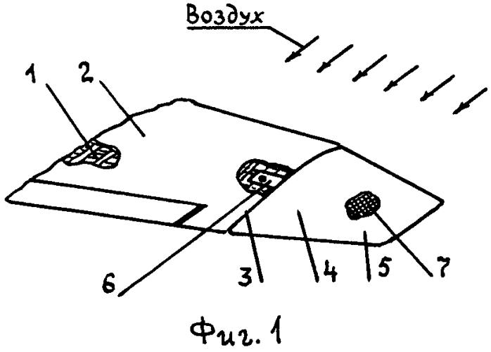 Концевая часть крыла летательного аппарата