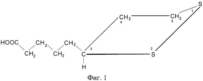 Способ определения липоевой кислоты в биологически активных добавках методом катодной вольтамперометрии