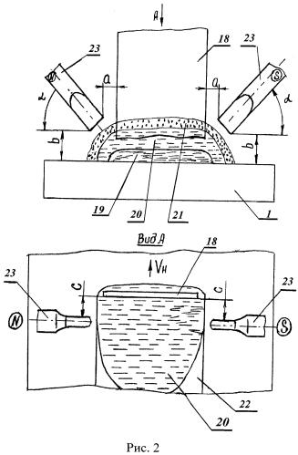 Способ электрошлаковой наплавки покрытия на внутреннюю поверхность трубы