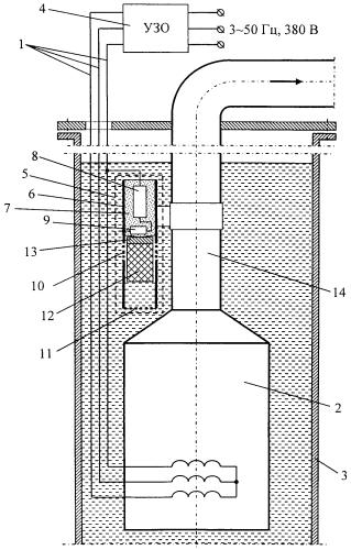 Устройство защиты погружного электронасоса от сухого хода