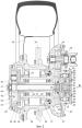 Трансмиссия с гидравлическими межосевой и межколесными дифференциальными связями с автоматически управляемыми режимами блокировки для автотранспортного средства повышенной проходимости