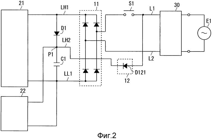 Схема электроснабжения и блок теплового насоса