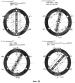Способ компенсации центробежной силы ротора электрической машины, а также антицентробежный генератор и антицентробежный электродвигатель для его осуществления и их высокочастотная электросеть