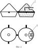 Узел подвижного соединения для образования полотна из бетонных матов (варианты)