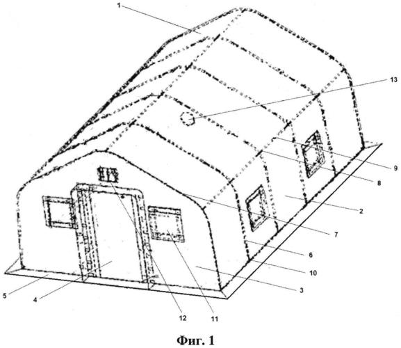 Палатка подготовки населения в области гражданской защиты