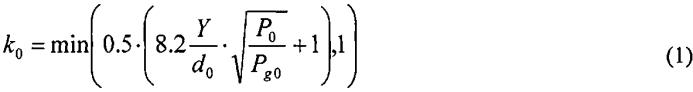 Способ определения параметров воздушной ударной волны при разгерметизации трубопроводов со сжатым газом