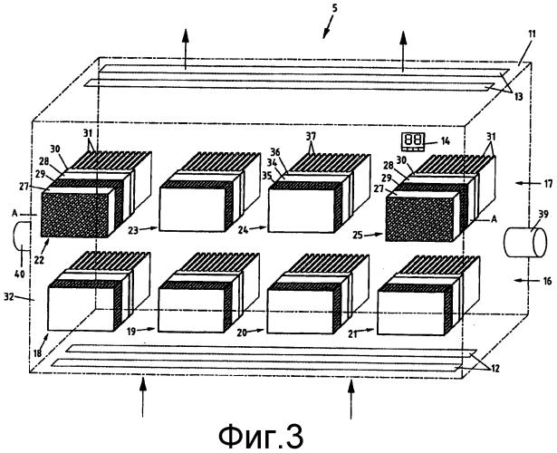 Устройство для кондиционирования воздуха помещений, а также агрегат теплового насоса для применения в таком устройстве