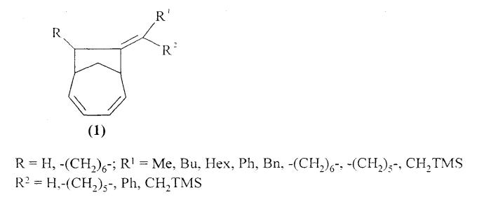 Способ получения бицикло[4.2.1]нона-2,4-диенов