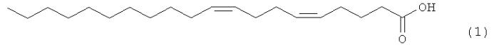 Способ получения (5z,9z)-5,9-эйкозадиеновой кислоты, проявляющей ингибирующее действие на человеческую топоизомеразу i