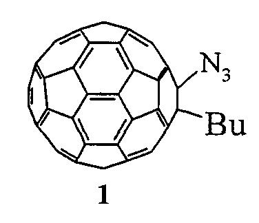 Способ получения 1-азидо-2-бутил-1,2-дигидро(c60-ih)[5,6]фуллерена