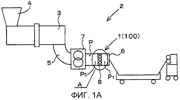 Уменьшающее гель устройство и способ уменьшения геля