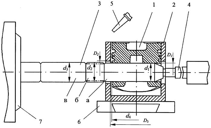 Способ восстановления изношенного отверстия поршня под поршневой палец и устройство для его осуществления