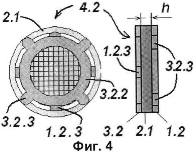 Электродный узел электронных приборов
