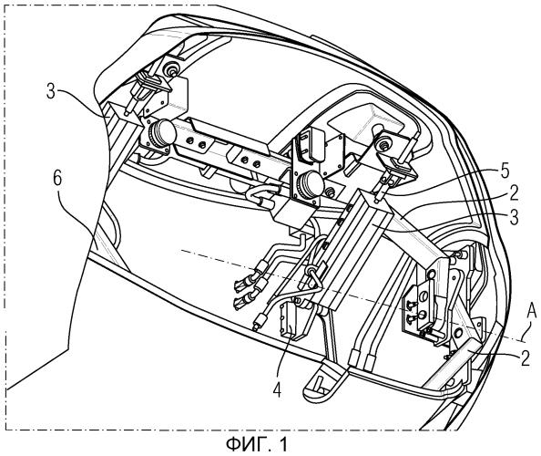 Рельсовое транспортное средство, снабженное кожухом фронтального сцепного устройства