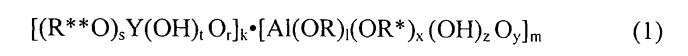 Волокнообразующие органоиттрийоксаналюмоксаны