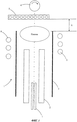 Многофорсуночная плазменная трубообразная горелка-осадитель для производства заготовок как полуфабрикатов для изготовления оптических волокон