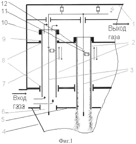Вертикальный трубчатый электрофильтр