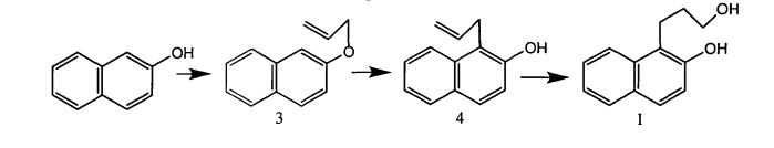 Способ получения (3-гидроксипропил)нафтолов