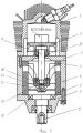 Двухтактная бескривошипная поршневая тепловая машина-двигатель