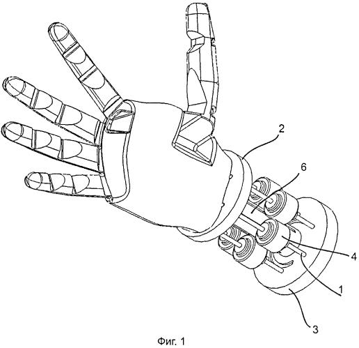 Кисть руки робота