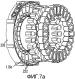 Электрическая машина-конструкция с формованием поверх