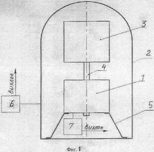 Сверхпроводящий магнитный подвес для кинетического накопителя энергии