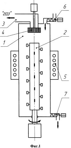 Устройство для температурной обработки сыпучих материалов