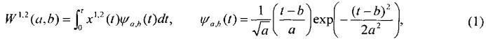 Способ выделения сигналов импульсного типа по временным данным