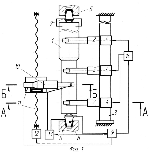 Устройство для электрохимической обработки осесимметричных деталей